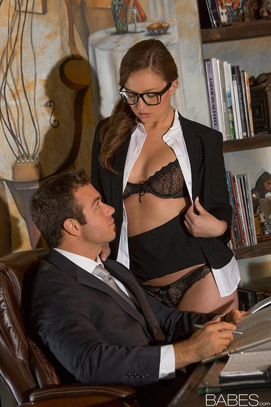 Babes office obsession your attention please starring 3