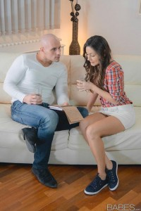 Babes Step Mom Lessons Iwia & Klarisa Leone in Math Tutor